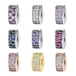Authentic Charms Beads Spacer Stopper 925 Sterling Silver Fiit Pandora Gift 💎