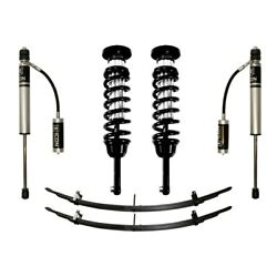 For Toyota Tacoma 05-18 Icon 0-3.5 Stage 2 Front And Rear Suspension Lift Kit