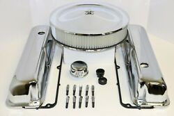 Ford Fe Chrome Engine Dress Up Kit Tall Valve Covers Air Cleaner 57-76 390 427