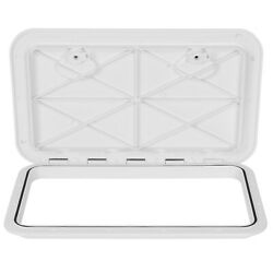 24 X 14 White Marine Boat Deck Access Hatch And Lid