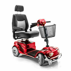 New Merits Pioneer 4 Wheel Electric Mobility Scooter + Batteries S14152armu