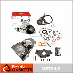 Timing Chain Kit Water Pump Timing Cover Oil Pump 07-14 Gm Chevrolet 5.3 6.0 6.2
