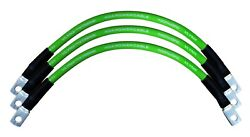 Qty3 Vbl4-12g Vlynx 4 Gauge Awg 12 100 Ofc Copper Battery Cable Interconnect