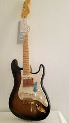 Fender 50th Anniversary Stratocaster Guitar 2004 Never Played New/orig./box/case