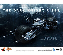 Hottoys Ht Mms177 The Dark Knight Rises 1/6th Scale Bat-pod Collectible