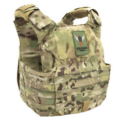 Shellback Tactical Patriot Plate Carrier W/ Free Heavy Hanger   Free Us Shipping