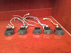 Crownline Assorted Boat Switches Br266 Nav And Courtesy And Docking Lights Acc H2o