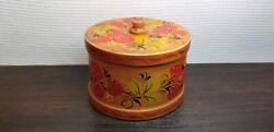 Vintage Casket Box Tree Wood Cultures And Ethnicities Khokhloma Ussr Soviet A