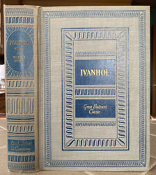 Ivanhoe By Sir Walter Scott  Hc Great Illustrated Classics Published In 1941