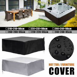 New Hot Tub Spa Cover Cap Guard Waterproof Dust Protector Harsh Weather 6 Sizes