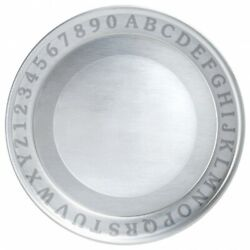A B C Plate By Woodbury Pewter, Shiny