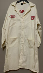 Vintage Lee Union Made Service Workers Coat Jacket Purina Chows