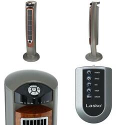 Wind Curve 42 In. 3-speed Oscillating Tower Fan With Fresh Air Ionizer And Remot