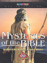 Queststar Collection Mysteries Of The Bible Collection 6 Dvd Set 2002 New