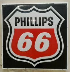 Phillips 66 Gas Oil Vintage Collectable Lighted Sign