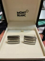 Mont Blanc Man's Cufflinks, New, Perfect Christmas Gift For Him