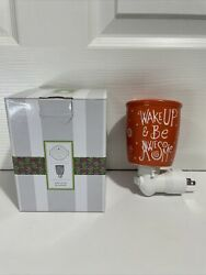 New Scentsy Plug In Warmer Nightlight Wake Up And Be Awesome
