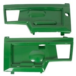 Pair Side Panels Replaces For Am128983 Am128982 John Deere 415 425 445 455