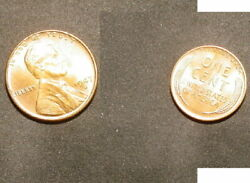 Two Hand Picked Choice Bu Pennys One 1944-s And One 1947-d Wheat From Bu Rolls