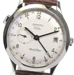 Zenith Port Royal Elite 03.1125.682 Dual Time Automatic Menand039s Watch_579819