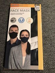 Cloth Face Masks Skin360 Premium Reusable Cloth Adult New In Box 6 Pack Size M/l
