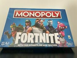 Sealed Box Monopoly Board Game Fortnite Edition