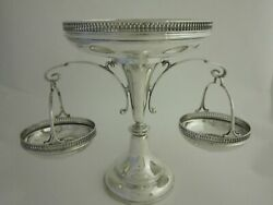 Antique Sterling Silver Centrepiece - 1920 By Walker And Hall