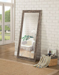 Full Length Mirror Large Antique Wall Leaning Standing Floor Mirror For Bedroom