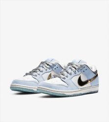 Sean Cliver Nike Sb Dunk Low Holiday Special Dc9936-100 Us 9.5