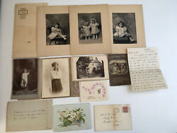 Antique Black And White Photographs. Christmas Card. Easter Cards.letter.