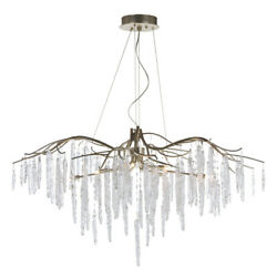 Maxim 26286icsg Willow 11-light 45 Wide Silver Gold Chandelier