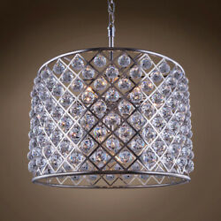 Gatsby Luminaires 701692-002 8 Light 27.5 Polished Nickel Clear Crystal