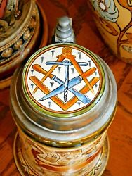 'cabinet Maker' A Rare Occupational Stein By Mettlach / Villeroy And Boch