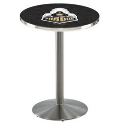 Holland Bar Stool Co. L214s4228purdue 42 Stainless Steel Purdue Pub Table