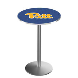 Holland Bar Stool Co. L214s3628pittsb 36 Stainless Steel Pitt Pub Table