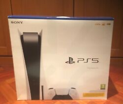 sony Ps5 Blu-ray Disc Edition Console New - White Accessory Bundle 🙏 Assist