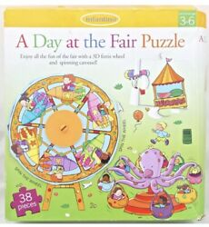 3d Puzzle A Day At The Fair Infantimo Ferris Wheel Carousel