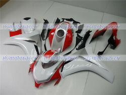 Fairing Red White Silver Injection Bodywork Set Fit For 2008-2011 Cbr 1000rr 46
