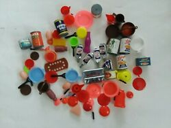 Vintage Pretend Play Food Grocery Cans Food Brands 1970and039s Lot