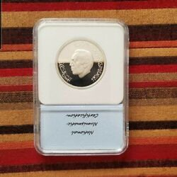 Morocco 200 Dirham 1987 200 Years Of Us Friendship With Morocco Silver Proof