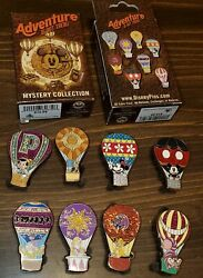 Disney Pins Hot Air Balloon Adventure Is Out There Complete Set New Authentic