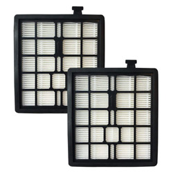 2-pack F45 Canister Filters Fits Dirt Devil Compatible With Part 2kq0107000