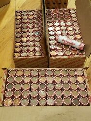 3 Boxes, 150 Machine Rolls 95 Copper Pennies 1982 And Older. Lincoln Memorial