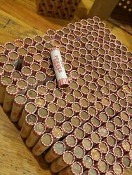 4 Boxes, 200 Machine Rolls 95 Copper Pennies 1982 And Older. Lincoln Memorial