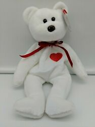 Ty Beanie Baby Valentino Rare Brown Nose + Multiple Tush Tag Errors