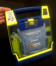 Cardiac Science Powerheart G3 Pro Aed + Pelican Case And Battery