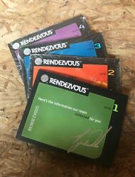 Rare Tiger Woods Buick Rendezvous Collector Promo / Advertising Cards From 2000