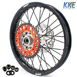 Kke Cast 18 Rear Wheel Rim Fit Motorcycle Exc Xcw Exc-r 144 250 450 2003-2020