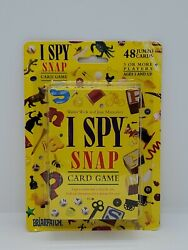 I Spy Snap By Briarpatch Vintage Card Game 48 Jumbo Cards 1998 Rare Sealed New