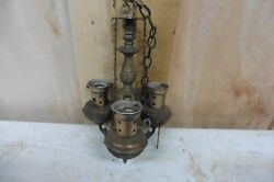 Vintage Solid Brass Lamp Country Western